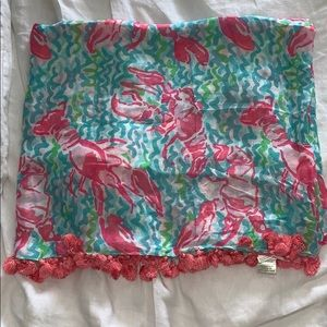 HOLY GRAIL Lilly infinity scarf- lobstah roll